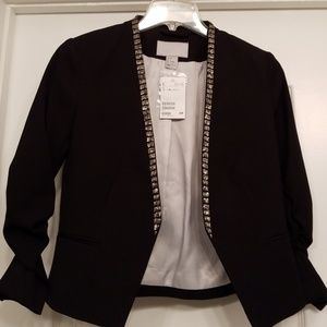 NWT Beautiful beaded Blazer